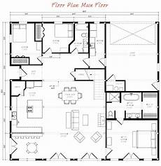 great plains gambrel timber home floor plan by sand creek
