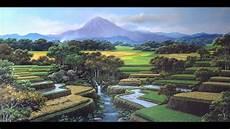 Gambar Lukisan Lingkungan Alam Koleksi Gambar Hd