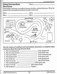 mapping skills worksheets for grade 5 11551 intermediate directions worksheet map worksheets map skills social studies