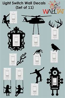 light switch and outlet wall decals 11 pack walltat com