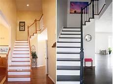 treppenhaus tapezieren ideen treppenhaus streichen und renovieren 63 ideen und