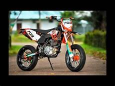 Thunder Modif Trail by Motor Suzuki Thunder 125 Modifikasi Supermoto Aliran