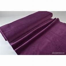 Tissu Velours Cottel 233 Violet