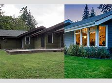 3 Dramatic Exteriors: Before and After   Modern Home Victoria