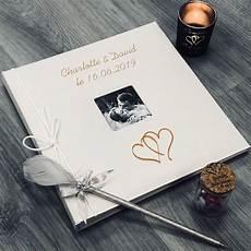 Livre D Or Personnalis 233 Coeur Mariage