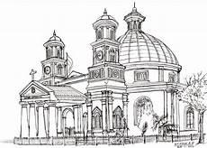 Live Sketching Drawing Kota Tua Semarang