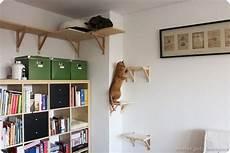 diy catwalk katzentreppe cat furniture ikea hackers