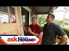 how to install a solid exterior door ask this old house youtube