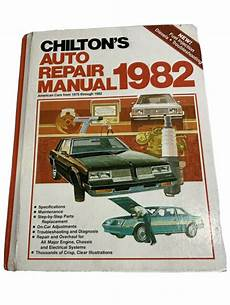 chilton car manuals free download 1998 gmc 2500 club coupe auto manual chiltons auto repair manual 1982 hardcover ebay