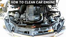 How To Wash Engine Demonstrated On Mercedes