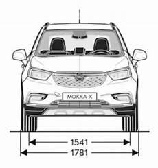 Opel Mokka X Abmessungen Technische Daten L 228 Nge