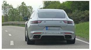 2021 Porsche Panamera Facelift Spied With A New Rear End