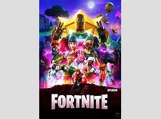 New Infinity War Fortnite Poster I Made