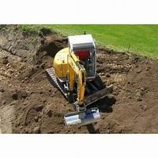 location tractopelle particulier louer une tractopelle pour effectuer un terrassement