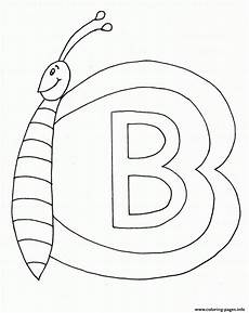 s282e butterfly b alphabet s282e coloring pages printable