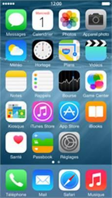 ecran d iphone 5 bouygues telecom apple iphone 5 ios 8 applications