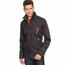 bmw m series driver jacket in black for lyst