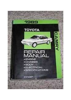 free car repair manuals 1989 toyota truck xtracab sr5 parking system 1989 toyota camry service repair manual diy repair manuals