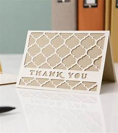learn how to make your own thank you cards with cricut