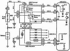 Wiring Diagrams Toyota Typical Abs Relay