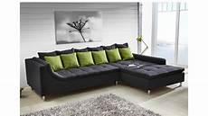 couch mit ottomane ecksofa montego sofa mit ottomane dunkelgrau kissen gr 252 n