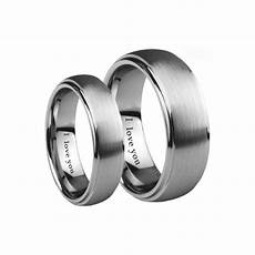 his and hers matching tungsten carbide wedding couple ring