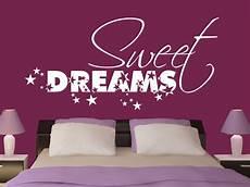 wandtattoo sweet dreams wandtattoo sweet dreams mit sternen f 252 rs schlafzimmer wandtattoo