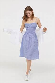 H Und M Kleid - h m dress with smocking best summer clothes from h m