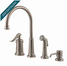 pewter kitchen faucets rustic pewter ashfield 1 handle kitchen faucet 026 4ype pfister faucets