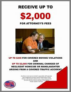 attorney fees motor club of america will pay up to 2 000