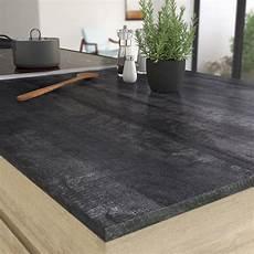 plan de travail leroy plan de travail stratifi 233 new vintage wood noir mat l 315