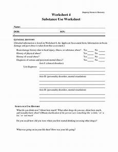 11 best images of addiction recovery worksheets