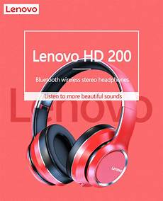 Lenovo Hd200 Bluetooth Earphone Foldable by Lenovo Hd200 Bluetooth Earphone Ear Foldable Computer