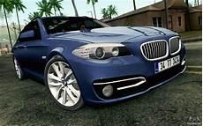 Bmw 530d F11 - bmw 530d f11 facelift hqlm for gta san andreas