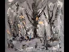 tableau moderne noir et blanc tableau gris peintre contemporain ame sauvage