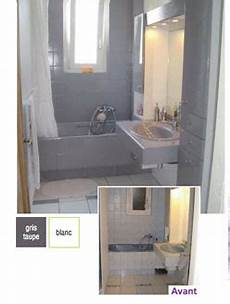 peindre baignoire lavabo carrelage salle bain avec