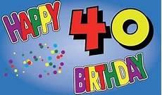 geburtstag 40 jahre fahne flagge happy birthday 40 jahre geburtstag 90 x 150