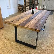 171 Tavolo 187 Der Tisch Aus Altholz Und Stahl Aus Der