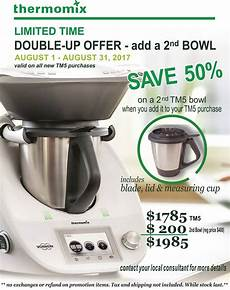 thermomix tm5 customer incentive august 2017