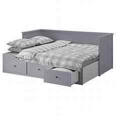 Hemnes Tagesbett Ikea - hemnes tagesbett 3 schubladen 2 matratzen grau moshult