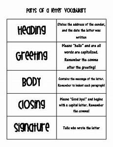 friendly letter template vocabulary worksheets by crown