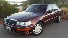 how to learn all about cars 1990 lexus es parking system lexus ls sedan 1990 burgundy for sale jt8uf11e6l0036391 1990 lexus ls400 4 door v8 burgundy