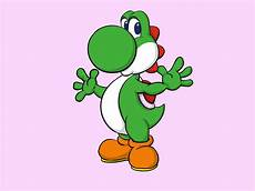 how to draw yoshi from mario with pictures wikihow