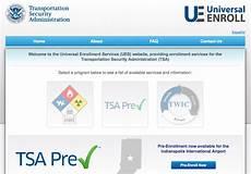 tsa precheck open application and enrollment beginsthe points