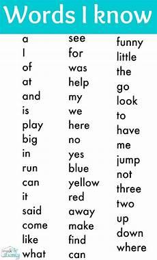 free kindergarten sight word list print it sight words kindergarten sight words