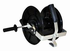electric fence reel tape wire rope fencing handheld mounted new winder ebay