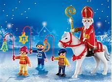 Playmobil Weihnachtsmann Ausmalbild Playmobil Santa Claus With Children 262612
