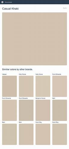 casual khaki behr click the image to see similiar colors by other brands house paint