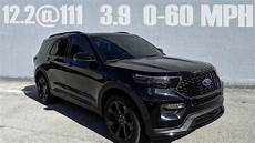 2020 ford explorer st goes 12 2 111 in the 1 4 mile and 3