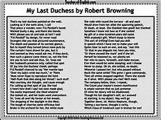 my last duchess 40 slide powerpoint and 7 worksheets teaching resources